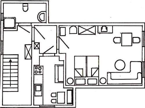 Grundriss Appartement 3