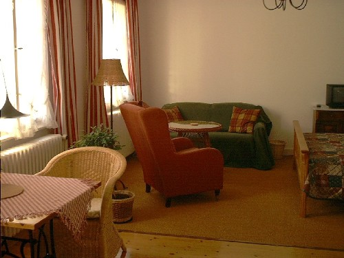 Sitzecke Apartment 1